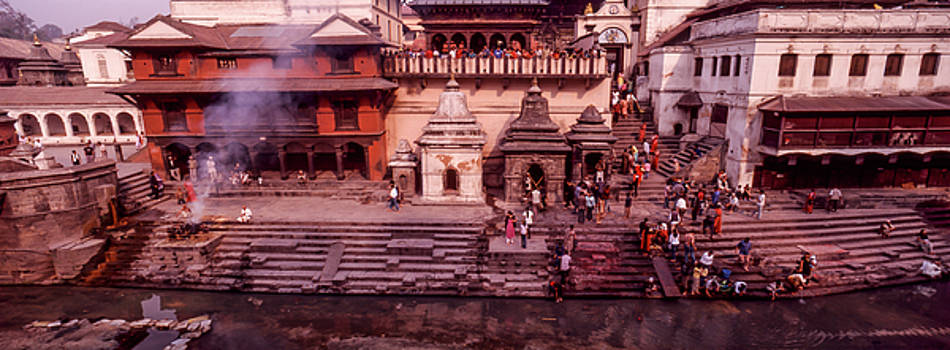Pashupatinath Temple by Ken Aaron
