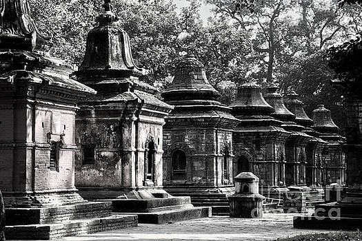 Pashupatinath Temple Lingams by Nola Lee Kelsey