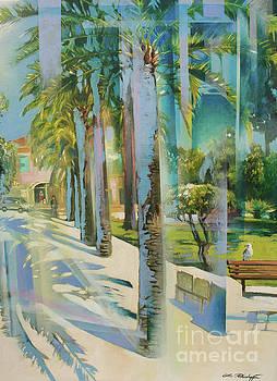 Passage des Palmiers by Lin Petershagen
