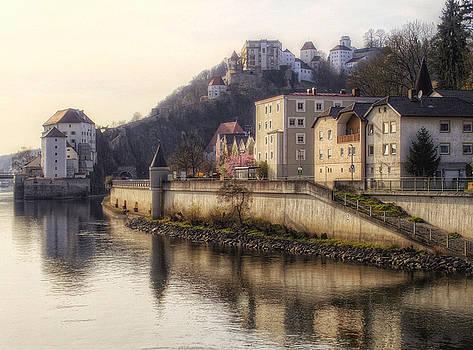 Passau Reflection by Claudio Bacinello