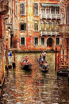 Passing Gondolas by Brian Lukas