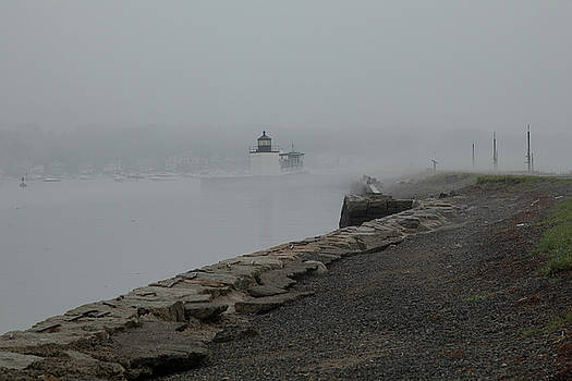 Passing in the fog by Jeff Folger