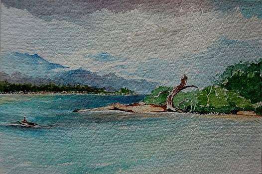 Passing the creek by Prakash Sree S N