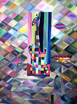 Rizwana Mundewadi - Passion Cubism Guitar
