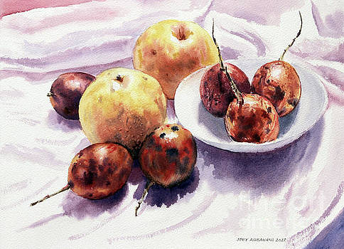 Passion Fruits and Pears 2 by Joey Agbayani