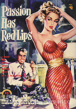 Passion Has Red Lips by George Gross