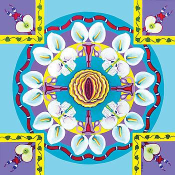 Passion Mandala by Barbara Rockhold