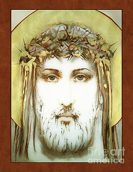 Passion of Christ in Gold by Ann Chapin