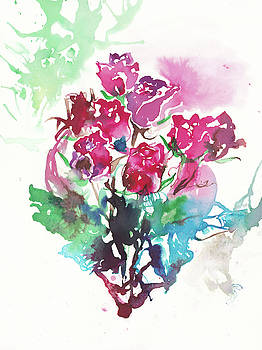 Passion of Roses by Yimeng Bian