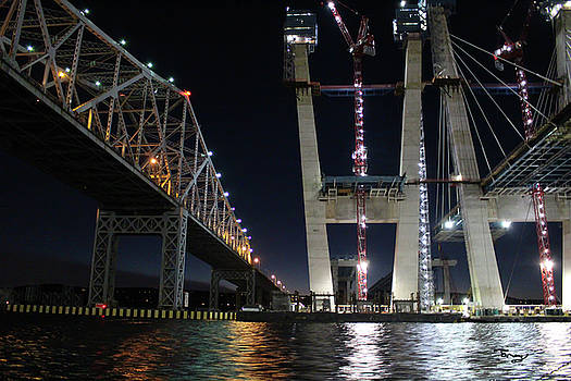 Past and Future Tappan Zee by Tammy Kuiper