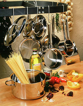 Pasta Pots and Pans by Eric Tworivers