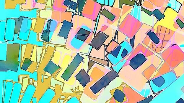 Pastel abstract by Cooky Goldblatt