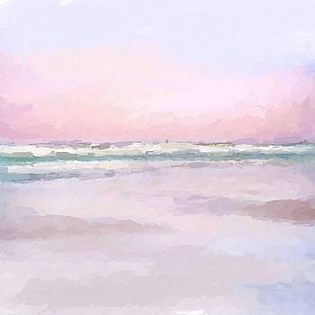 Pastel beach by Anthony Fishburne