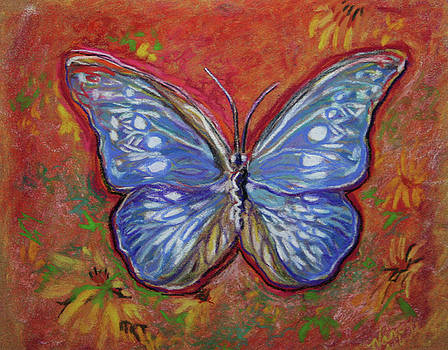 Pastel Butterfly by Michele Hollister - for Nancy Asbell