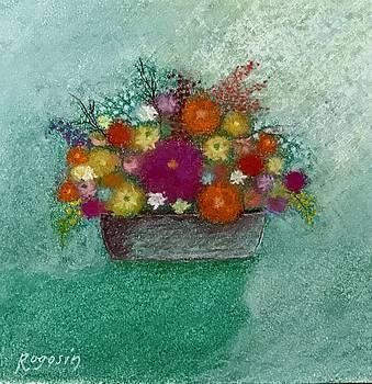 Pastel Flowers by Harvey Rogosin