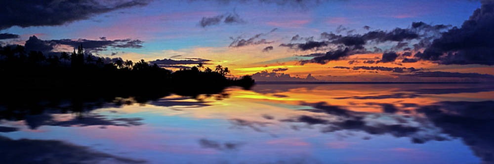 Pastel Island Sunset by Richard Hinds