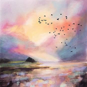 Pastel Landscape by Michele Carter