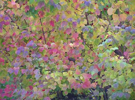 Pastel Leaves by Oleg Zavarzin