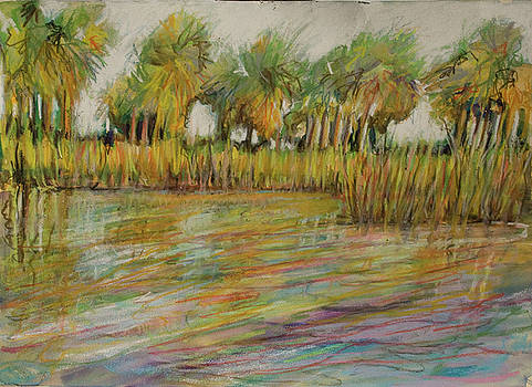 Pastel Palms by Michele Hollister - for Nancy Asbell