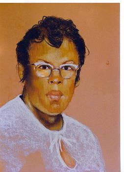 Pastel Portrait Commisson by Leonard R Wilkinson