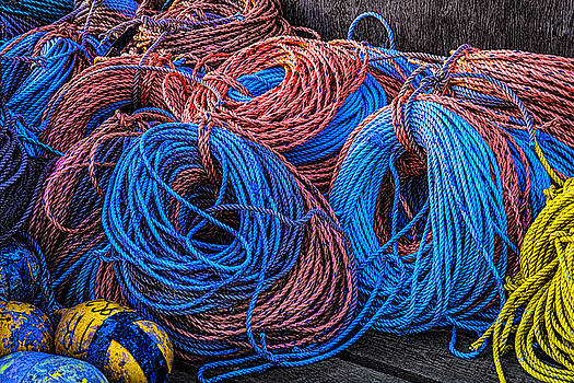 Pastel Ropes by Marty Saccone