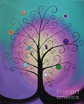 Pastel tree by Dawn Plyler