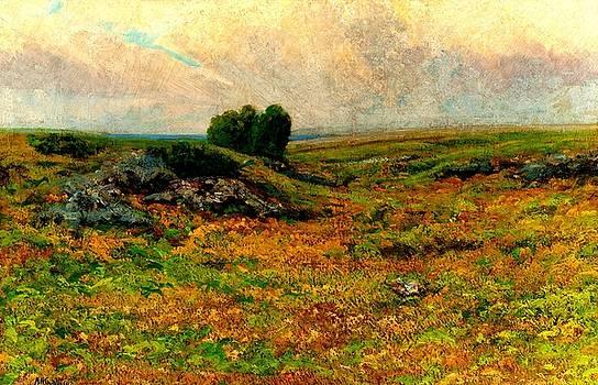 Peter Gumaer Ogden - Pastoral Landscape 1885