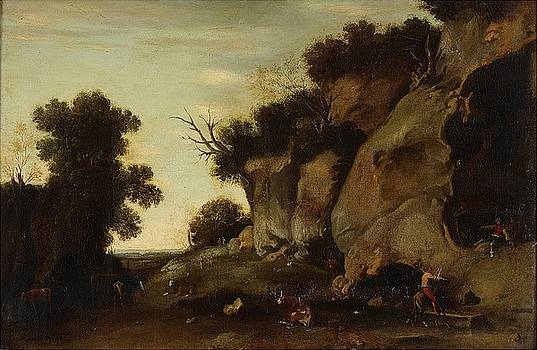 Pastoral scene at the cave by MotionAge Designs