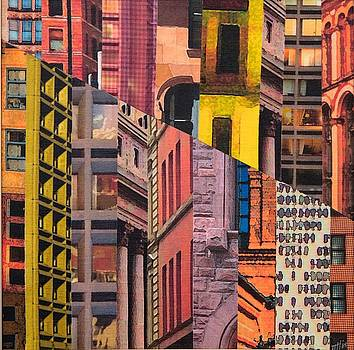 Patchwork City 16 by Marilyn Henrion