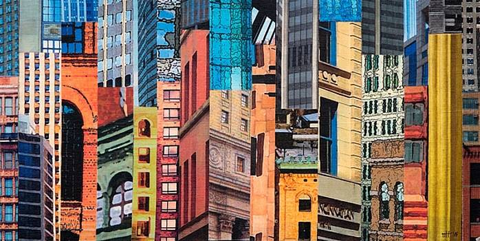Patchwork City 20 by Marilyn Henrion
