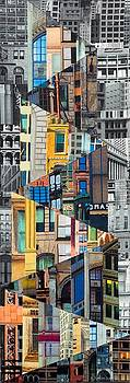 Patchwork City 25 by Marilyn Henrion