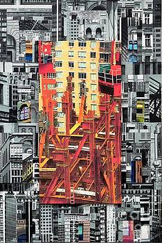 Patchwork City 27 by Marilyn Henrion