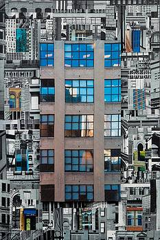Patchwork City 28 by Marilyn Henrion