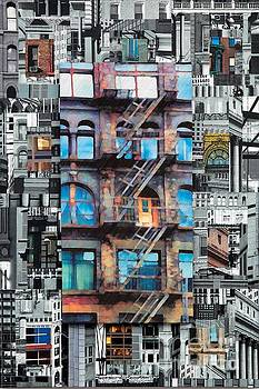 Patchwork City 29 by Marilyn Henrion