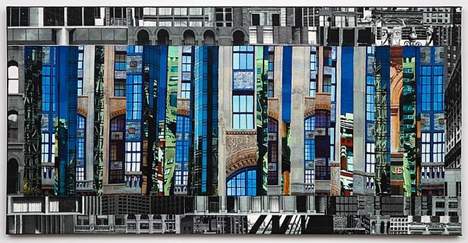 Patchwork City 59 by Marilyn Henrion