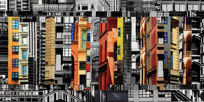 Patchwork City 60 by Marilyn Henrion