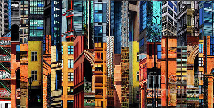 Patchwork City 61 by Marilyn Henrion
