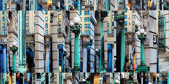 Patchwork City 62 by Marilyn Henrion
