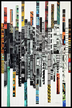 Patchwork City 65 by Marilyn Henrion