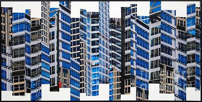 Patchwork City 67 by Marilyn Henrion