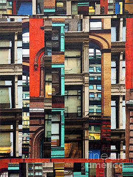Patchwork City 71 by Marilyn Henrion