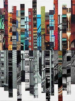 Patchwork City 72 by Marilyn Henrion