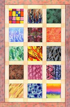 Patchwork Paint 1 by Lynne Henderson