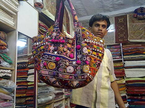 Patchwork Tribal Bags by Santosh Rathi