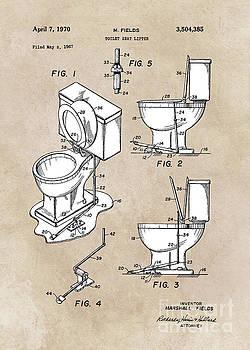 Justyna Jaszke JBJart - patent art Fields Toilet seat lifter 1967