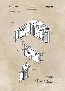 Justyna Jaszke JBJart - patent art Frye Roll film camera 1950