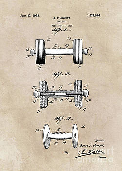 Justyna Jaszke JBJart - patent art Jowett Dumb Bell 1927