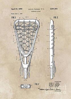 Justyna Jaszke JBJart - patent art Tucker Lacrosse stick 1967