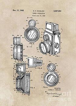 Justyna Jaszke JBJart - patent art Winslow Camera Accessories 1960