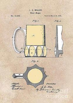 Justyna Jaszke JBJart - patent Beer Mugs Miller 1873